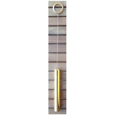 Biotester in ottone dorato- biotensor-alfadinamica-ticino