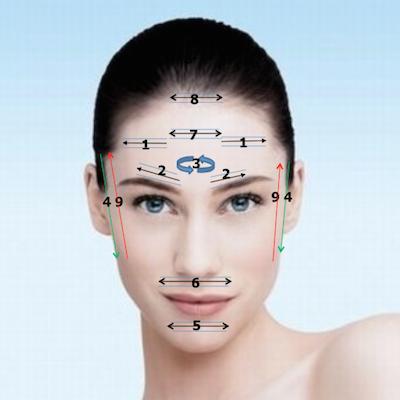 Corso di Riflessologia del viso, Dien Cham', ticino