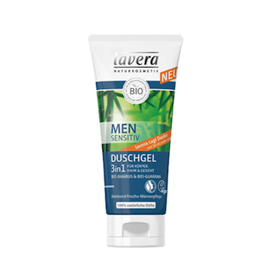 Gel-Shampoo-doccia Bio 3 in 1 Men Sensitiv Lavera