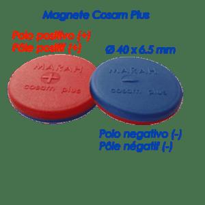 magnete cosam plus, un magnete grande e potente, adatto per dolori acuti e estesi - alfadinamica-svizzera