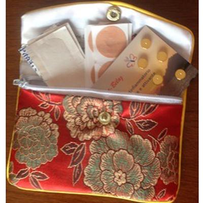 Set tascabile di 10 magneti dorati