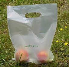 sacs en plastique, shoppers