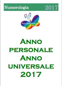 Anno personale, anno universale, numerologia