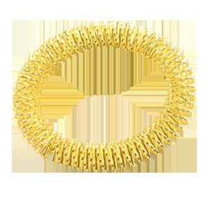 braccialetto-da-massaggio-per-mani-e-piedi-dorato- bracelet-de-massage-pour-mains-et-pieds-dore